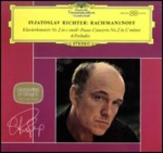 Concerto per pianoforte n.2 - 6 Preludi - Vinile LP di Sergej Vasilevich Rachmaninov,Sviatoslav Richter