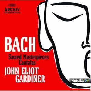 Musica sacra - Cantate - CD Audio di Johann Sebastian Bach,John Eliot Gardiner