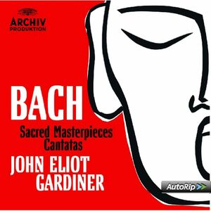CD Musica sacra - Cantate di Johann Sebastian Bach