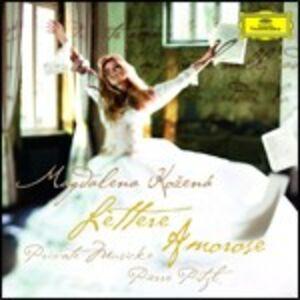 Foto Cover di Lettere amorose, CD di Magdalena Kozena, prodotto da Deutsche Grammophon