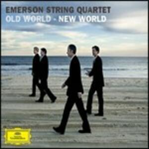 Old World - New World - CD Audio di Antonin Dvorak,Emerson String Quartet