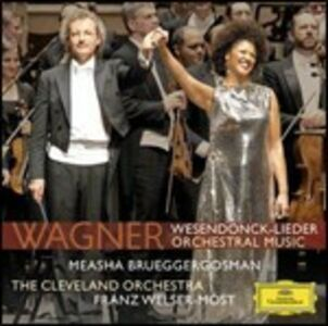 CD Wesendonck-Lieder - Musica orchestrale di Richard Wagner