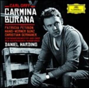Carmina Burana - CD Audio di Carl Orff,Christian Gerhaher,Patricia Petibon,Orchestra Sinfonica della Radio Bavarese,Daniel Harding