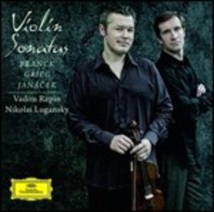 CD Sonate per violino Edvard Grieg , César Franck