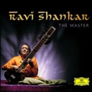 Foto Cover di The Master, CD di Ravi Shankar, prodotto da Deutsche Grammophon