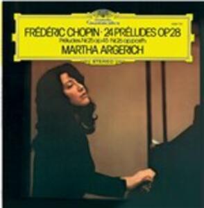 24 Preludi - Vinile LP di Fryderyk Franciszek Chopin,Martha Argerich