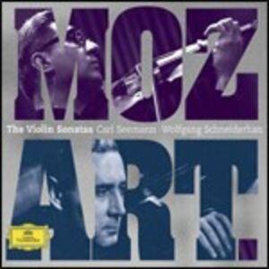 CD Sonate per violino di Wolfgang Amadeus Mozart