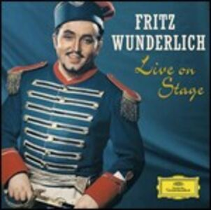 Foto Cover di Live on Stage, CD di Fritz Wunderlich, prodotto da Deutsche Grammophon