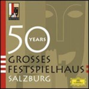 Foto Cover di 50 Anni del Festival di Salisburgo, CD di  prodotto da Deutsche Grammophon