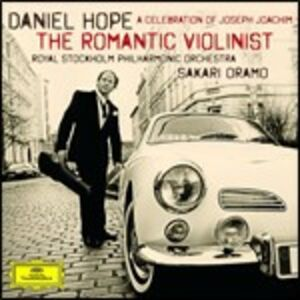 Foto Cover di The Romantic Violinist. A Celebration of Joseph Joachim, CD di AA.VV prodotto da Deutsche Grammophon