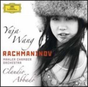 Concerto per pianoforte n.2 - Variazioni su un tema di Paganini - CD Audio di Sergej Vasilevich Rachmaninov,Claudio Abbado,Mahler Chamber Orchestra,Yuja Wang