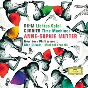 CD Lichtes Spiel / Time Machines Wolfgang Rihm , Sebastian Currier