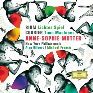 CD Lichtes Spiel / Time Machines Wolfgang Rihm , Sebastian Currier