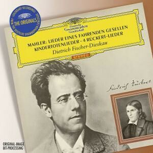 Foto Cover di Lieder Eines Fahrenden Gesellen - Kindertotenlieder - 4 Rückert-Lieder, CD di Gustav Mahler,Dietrich Fischer-Dieskau, prodotto da Deutsche Grammophon