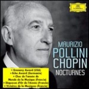 Foto Cover di Notturni, CD di Fryderyk Franciszek Chopin,Maurizio Pollini, prodotto da Deutsche Grammophon