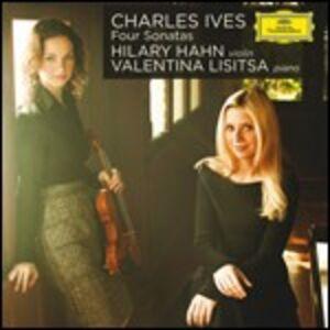 CD 4 Sonate per violino di Charles Ives