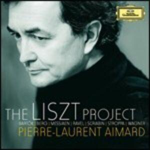CD The Liszt Project di Franz Liszt