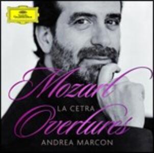 Ouvertures - CD Audio di Wolfgang Amadeus Mozart,Andrea Marcon,La Cetra