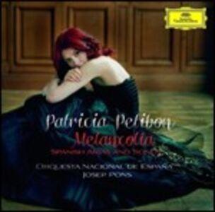 CD Melancolia. Arie e canzoni spagnole