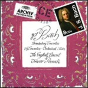 CD Musica orchestrale di Johann Sebastian Bach