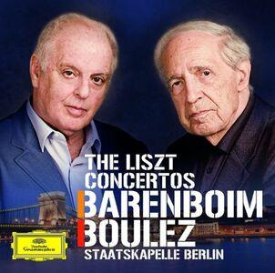 CD Concerti per pianoforte n.1, n.2 di Franz Liszt