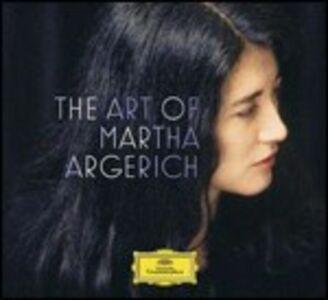Foto Cover di The Art of Martha Argerich, CD di Martha Argerich, prodotto da Deutsche Grammophon