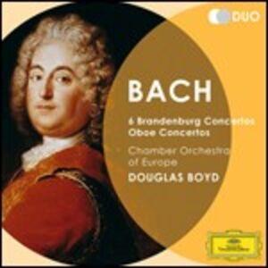 Foto Cover di Concerti brandeburghesi  - Concerti per oboe, CD di AA.VV prodotto da Deutsche Grammophon