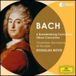 CD Concerti brandeburghesi  - Concerti per oboe di Johann Sebastian Bach