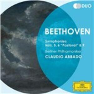 CD Sinfonie n.5, n.6, n.9 di Ludwig van Beethoven
