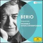 CD Sequenze I-XIII Luciano Berio Ensemble Intercontemporain