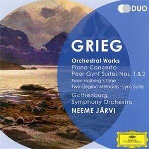 CD Musica orchestrale di Edvard Grieg