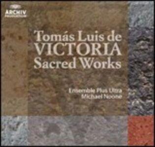 CD Musica sacra di Tomas Luis De Victoria