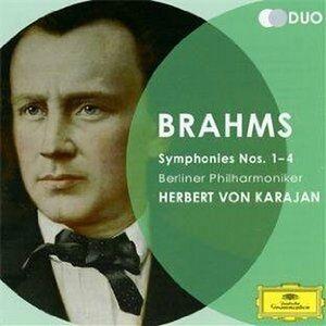 CD Sinfonie n.1, n.2, n.3, n.4 di Johannes Brahms