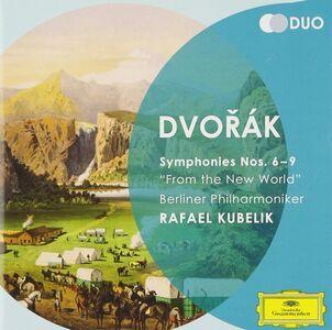 CD Sinfonie n.6, n.7, n.8, n.9 di Antonin Dvorak