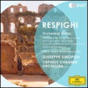 CD Musica orchestrale di Ottorino Respighi