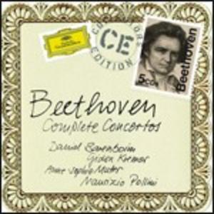 CD Concerti completi di Ludwig van Beethoven