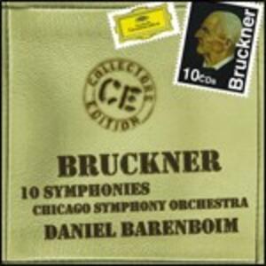 Sinfonie complete - CD Audio di Anton Bruckner,Daniel Barenboim,Chicago Symphony Orchestra