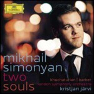 CD Two Souls. Concerti per violino Samuel Barber , Aram Khachaturian