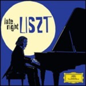 CD Late Night di Franz Liszt