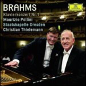 Concerto per pianoforte n.1 - CD Audio di Johannes Brahms,Maurizio Pollini,Christian Thielemann,Staatskapelle Dresda