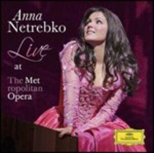 Foto Cover di Live at the Metropolitan Opera, CD di Anna Netrebko, prodotto da Deutsche Grammophon