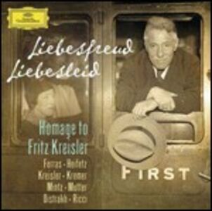 CD Liebesfreud, Liebesleid. Homage to Fritz Kreisler