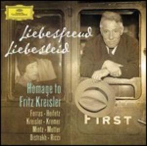 CD Liebesfreud, Liebesleid. Homage to Fritz Kreisler