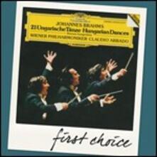 Danze ungheresi - CD Audio di Johannes Brahms,Claudio Abbado,Wiener Philharmoniker