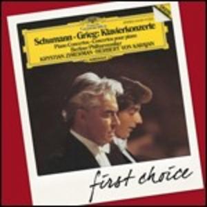 CD Concerti per pianoforte Edvard Grieg , Robert Schumann
