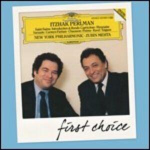 CD Carmen Fantasy / Poème / Tzigane / Havanaise Maurice Ravel , Camille Saint-Saëns , Ernest Chausson , Pablo de Sarasate