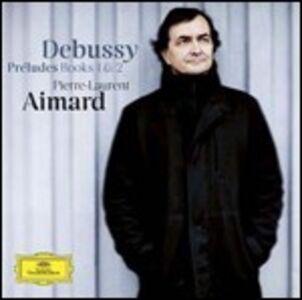 Foto Cover di Preludi libri I e II, CD di Claude Debussy,Pierre-Laurent Aimard, prodotto da Deutsche Grammophon
