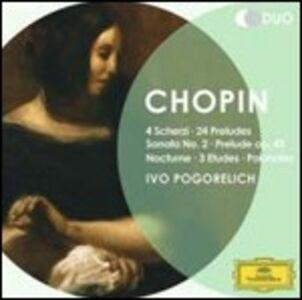 CD 4 Scherzi - 24 Preludi - Sonata per pianoforte n.2 di Fryderyk Franciszek Chopin