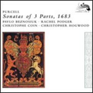 Sonate a tre parti - CD Audio di Henry Purcell,Christopher Hogwood