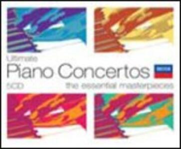 Ultimate Piano Concertos - CD Audio